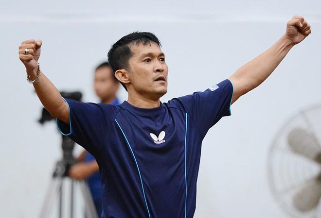 Đoàn Kiến Quốc và hai lần vô địch bóng bàn SEA Games