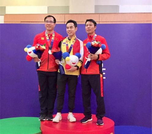 Xạ thủ Hoàng Xuân Vinh tiếc nuối khi trượt HCV SEA Games 30