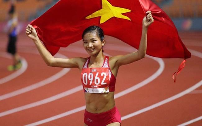 Nguyễn Thị Oanh là một trong những VĐV xuất sắc nhất của điền kinh Việt Nam tại SEA Games 30