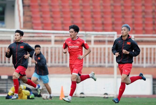Tuyển U23 Việt Nam tập buổi đầu tại TP.HCM