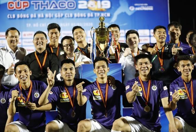 Hà Nội vô địch Siêu Cup: Bản lĩnh nhà vô địch