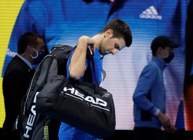 Djokovic buồn bã rời ATP Finals
