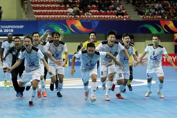Thái Sơn Nam lọt top 10 CLB Futsal xuất sắc nhất thế giới