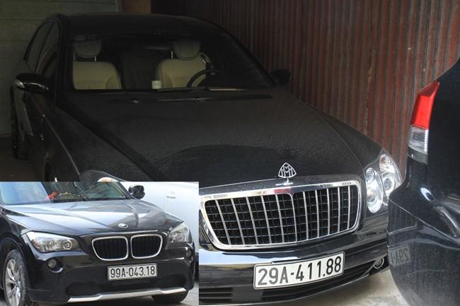 Trùm xã hội đen đất Kinh Bắc đi siêu xe đeo biển giả