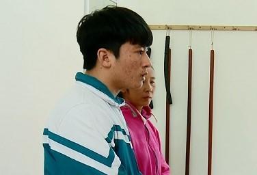 Nguyễn Văn Dương tại cơ quan công an.