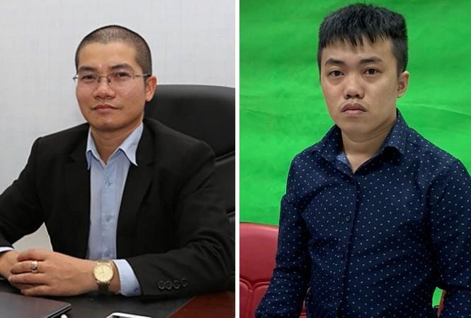 Nguyễn Thái Luyện và Nguyễn Thái Lĩnh bị công an khởi tố để điều tra.