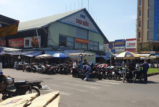 Chợ Kim Biên nơi xảy ra vụ việc.
