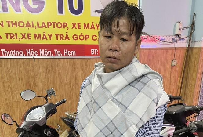 Tho bị bắt sau khi thực hiện hàng loạt vụ đánh thuốc mê cướp tài sản tài xế xe ôm.