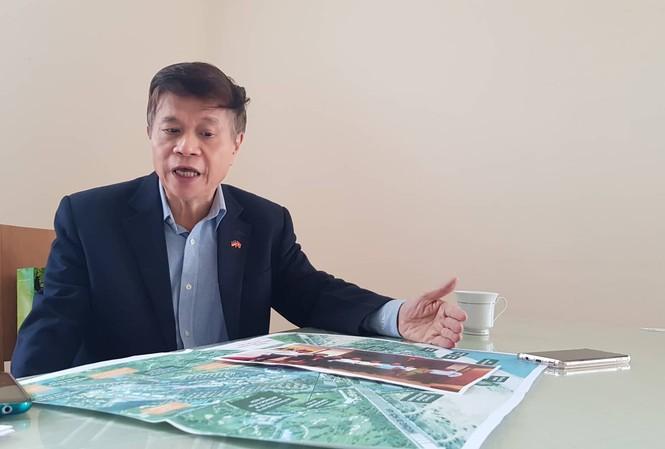 Mai Huy Tân, Chủ tịch Cty Nhịp cầu Việt Đức đầu tư hàng trăm tỷ đồng vào condotel tại Đà Nẵng. Ảnh: Ngọc Mai