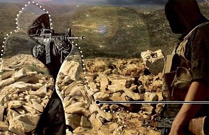 Hình minh họa cho tấm ngụy trang công nghệ cao Vatec.