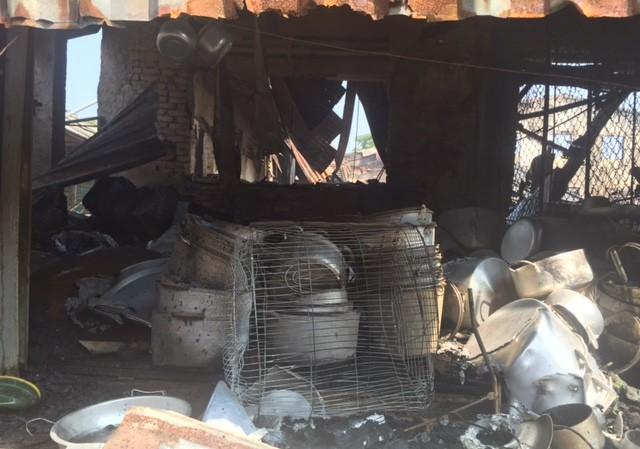 Hàng trăm tỷ hóa tro than trong vụ cháy chợ ở Hà Tĩnh