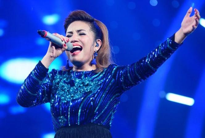 Janice Phương trong đêm chung kết