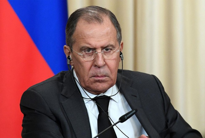 Ngoại trưởng Nga Sergey Lavrov. Ảnh: Getty