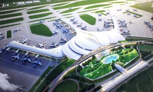 Phương án thiết kế hoa sen được chọn cho nhà ga sân bay Long Thành.