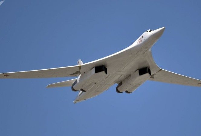 Máy bay Tu-160. Ảnh: Sputnik