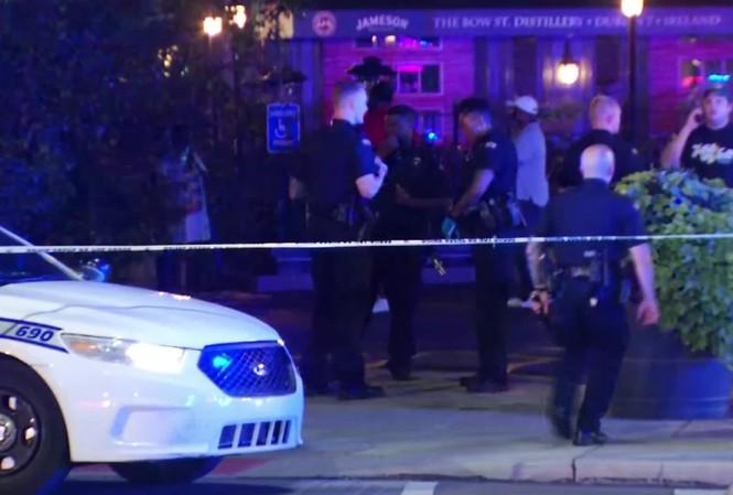 Cảnh sát phong tỏa hiện trường vụ xả súng. Ảnh: WKEF