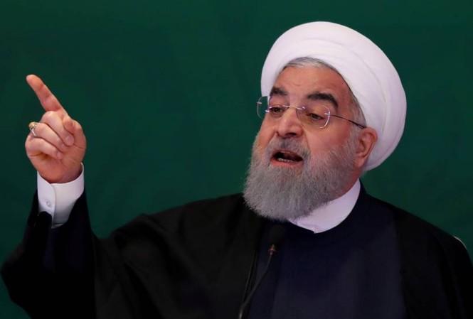 Tổng thống Iran Hassan Rouhani. Ảnh: Reuters
