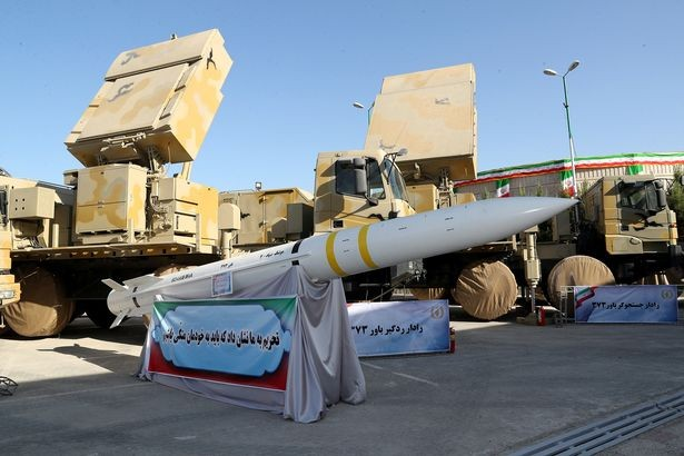 Tên lửa Bavar-373 của Iran. Ảnh: Reuters