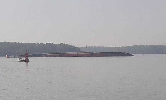 Tàu Viet Sun Integrity bị chìm trên sông Lòng Tàu