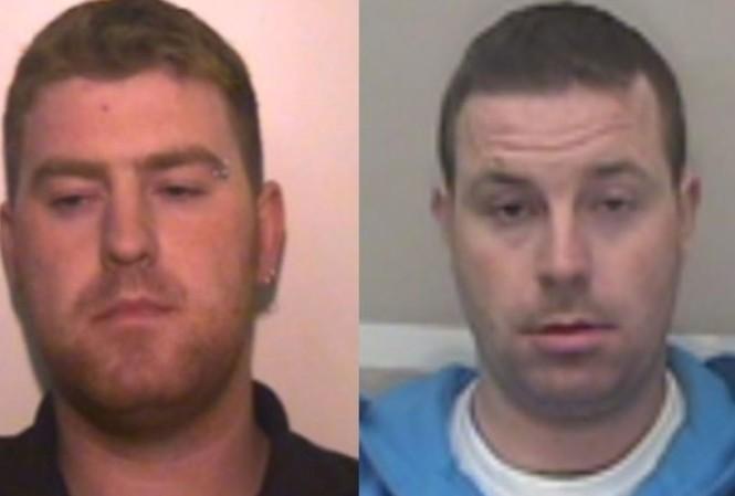 Ronan (trái) và Christopher Hughes (phải).