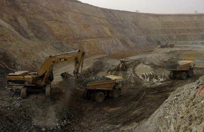 Một mỏ vàng ở Burkina Faso. Ảnh: Reuters
