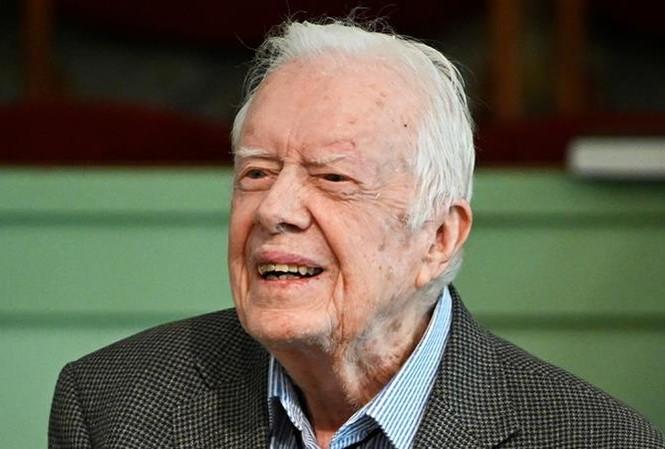 Cựu Tổng thống Jimmy Carter. Ảnh: AP