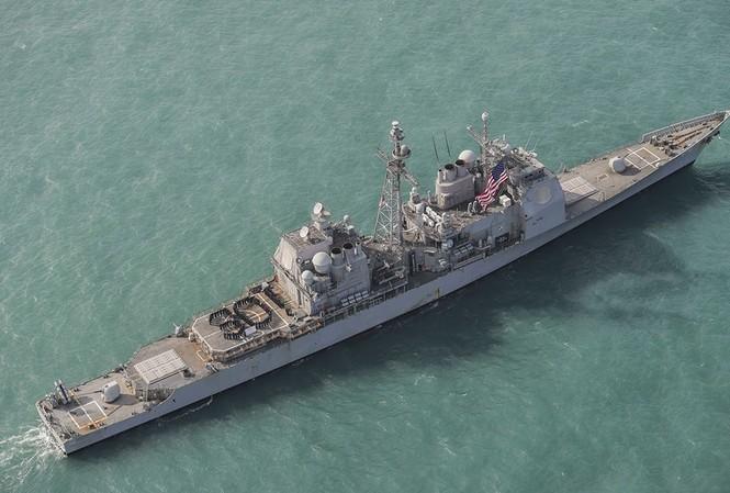 Tàu USS Chancellorsville. Ảnh: Hải quân Mỹ