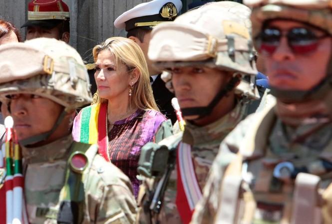 Bà Jeanine Anez. Ảnh: Reuters