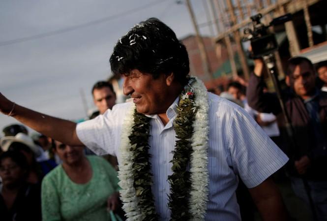 Ông Evo Morales. Ảnh: Sputnik
