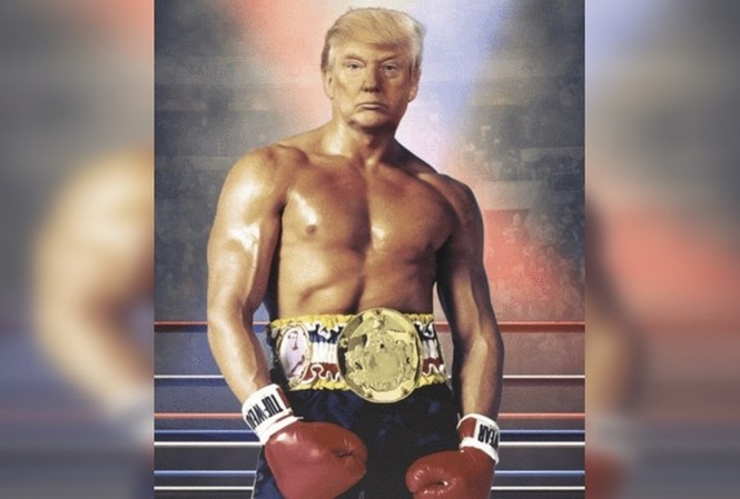 Bức ảnh được Tổng thống Mỹ Trump đăng tải trên Twitter.