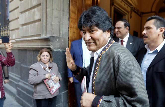 Ông Morales ở Mexico. Ảnh: Reuters