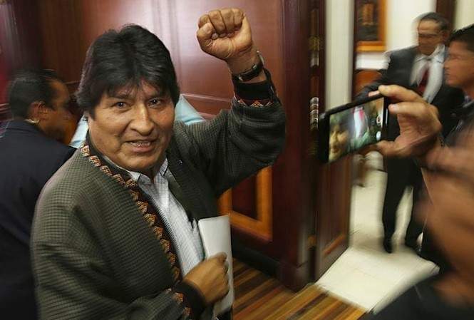 Cựu Tổng thống Bolivia Evo Morales. Ảnh: Washington Post