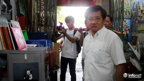 Ông Hải từng là Phó Chủ tịch Quận 1, được biết đến qua sự cương quyết trong chiến dịch dẹp vỉa hè năm 2017