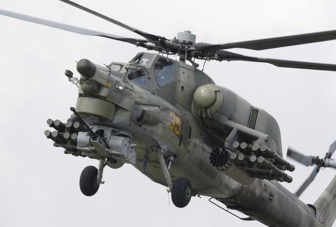 Trực thăng Mi-28. Ảnh: Sputnik