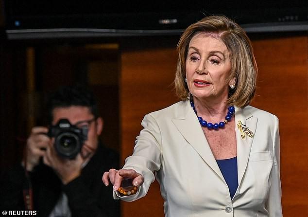 Chủ tịch Hạ viện Nancy Pelosi. Ảnh: Reuters