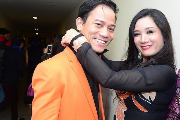 Thanh Thanh Hiền với Chế Phong thủa còn mặn nồng.