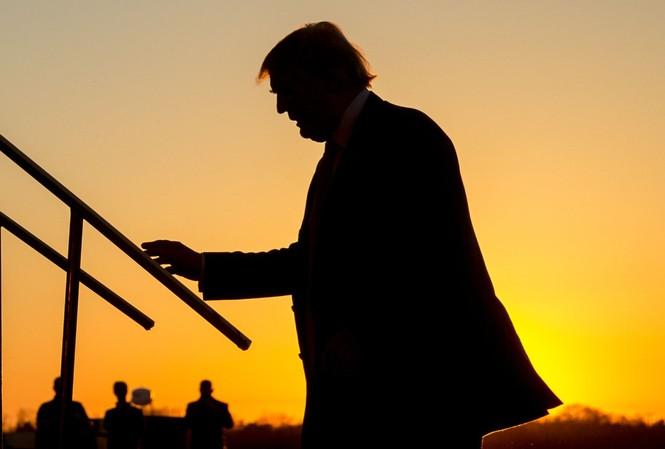 Tổng thống Trump. Ảnh: Sky News
