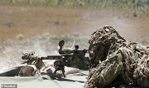 Một binh sĩ của lực lượng SAS. Ảnh: Daily Mail