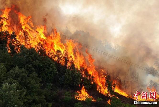 Cháy rừng ở Tứ Xuyên