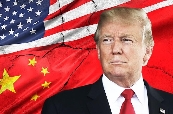 """Tổng thống Mỹ Donald Trump thông báo ông vừa đồng ý với thỏa thuận thương mại """"giai đoạn 1"""" với Trung Quốc. Ảnh: Shuttlestock."""