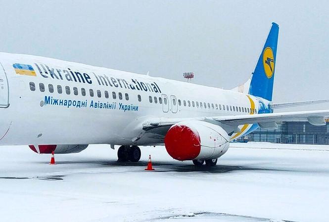 Một chiếc Boeing 737 của Ukraine International Airlines. Ảnh minh họa.