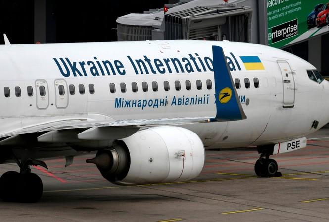 Một chiếc Boeing 737 của Ukraine International Airlines. Ảnh: Telegraph.