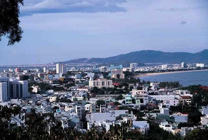 Một góc TP Quy Nhơn. Ảnh: Trương Định