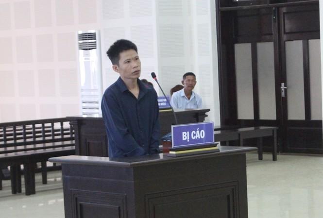 Bị cáo Nguyễn Duy Khánh tại tòa