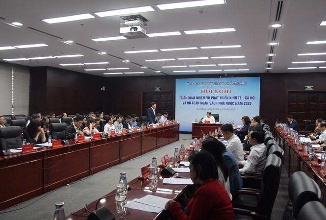 Ngày 28/12, UBND TP Đà Nẵng tổ chức Hội nghị Triển khai nhiệm vụ phát triển kinh tế - xã hội và dự toán ngân sách nhà nước năm 2020. Trong năm 2020, TP Đà Nẵng đặt chỉ tiêu đạt tốc độ tăng trưởng kinh tế 9%