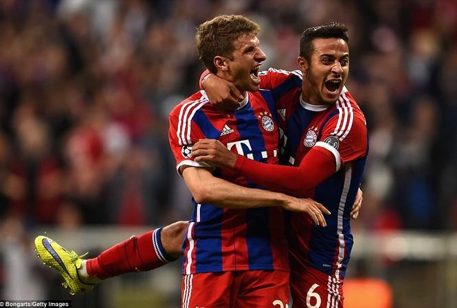 Bayern Munich đã có một trận đấu tuyệt hay.