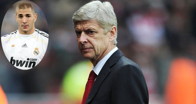 Wenger rất muốn có Benzema trong đội hình.