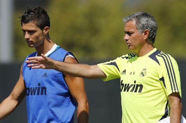 Mourinho và Ronaldo có mối quan hệ không mấy tốt đẹp.