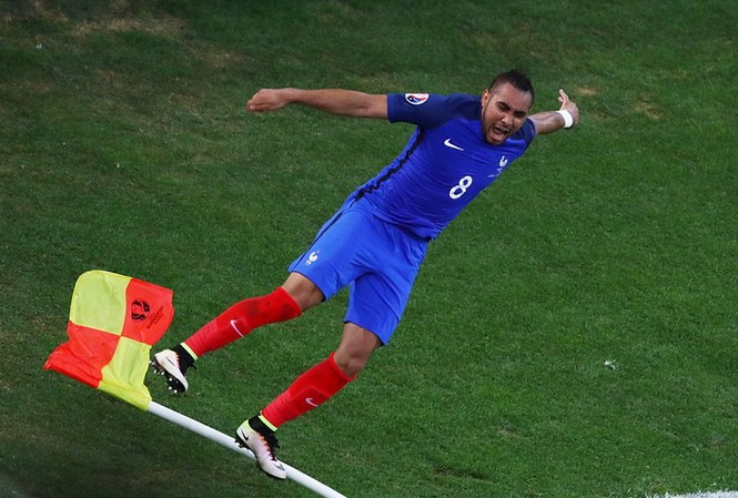 Payet tiếp tục tỏa sáng trong màu áo tuyển Pháp. (Nguồn: Getty Images)