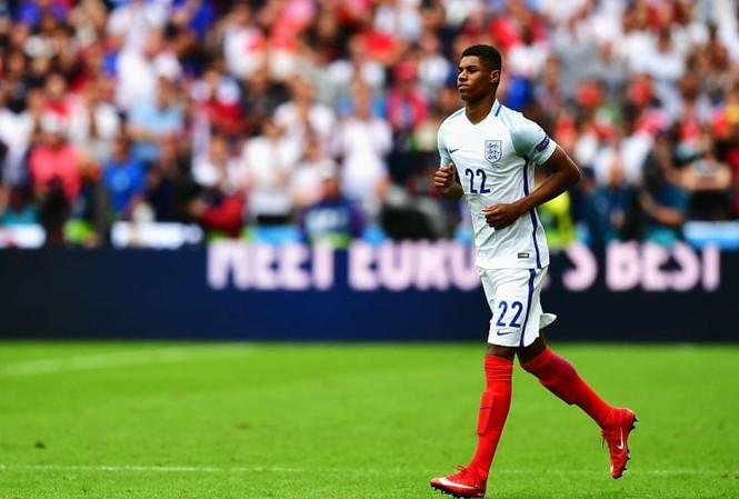 Rashford đi vào lịch sử bóng đá Anh. (Nguồn: Getty Images)